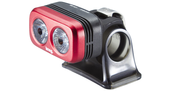 Knog Blinder Outdoor 2 weiße LED rot